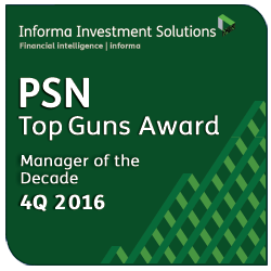 PSN Top Gun Award